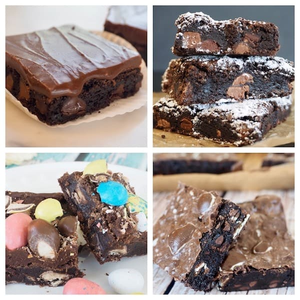 Four Ultimate Fudge Brownie Recipes