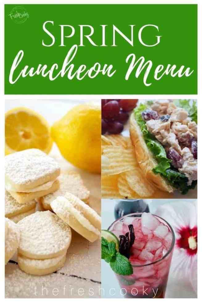 Spring Luncheon Menu