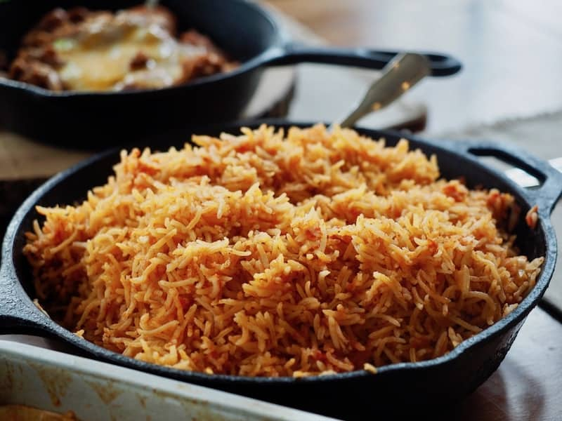 Spanish/Mexican Rice   www.thefreshcooky.com #mexicanrice #spanishrice #mexican