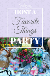 How to Host a Favorite Things Party #thefreshcooky #favoritethings #party #girlsnight #gno #gifts #partyplanning