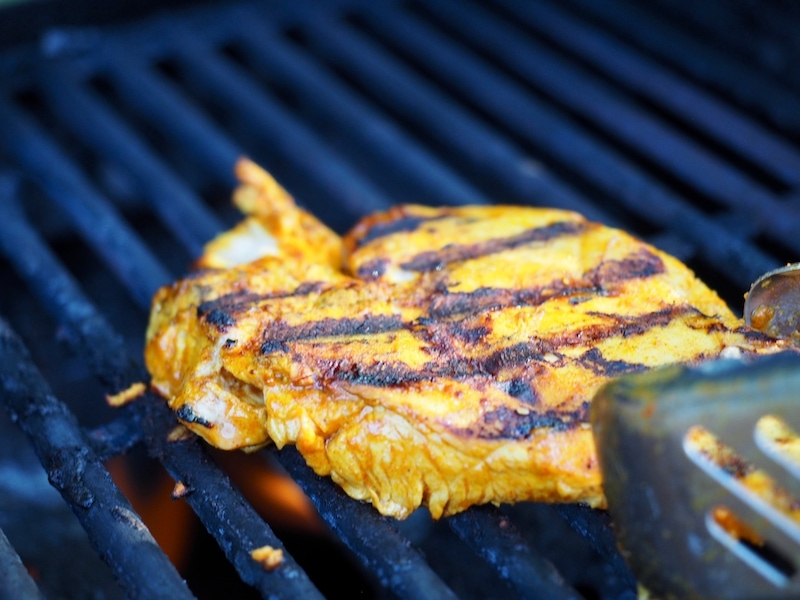 Chicken Breast with grill marks   www.thefreshcooky.com