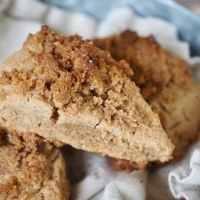 Cinnamon Crunch Scones