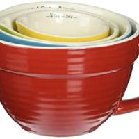 Creative Co-Op DA1805 Set of 4 Bowl Shaped Measuring Cups