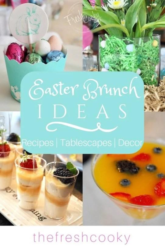 Easter Brunch Ideas | www.thefreshcooky.com