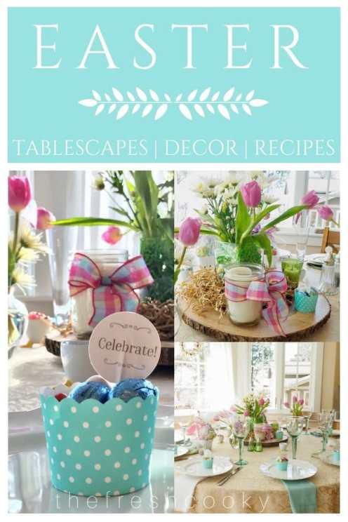 Easter Brunch Ideas Decor and Recipes   www.thefreshcooky.com