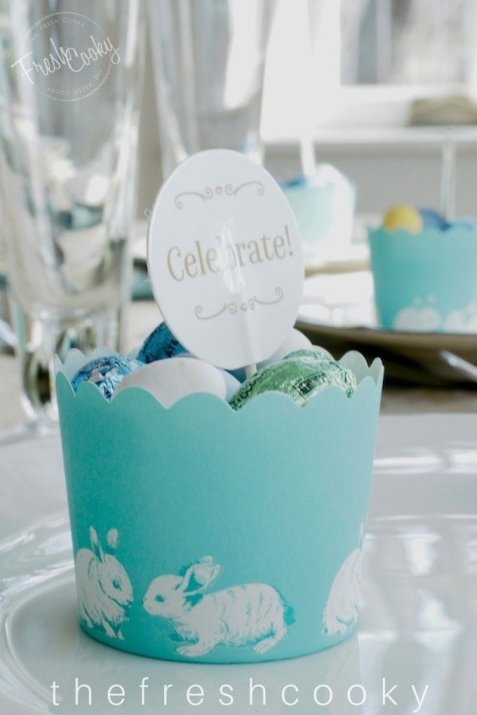 Easter DIY Tablescapes   www.thefreshcooky.com