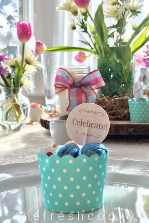 Simple DIY Easter Tablescapes   www.thefreshcooky.com
