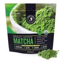 Jade Leaf Matcha Green Tea Powder - USDA Organic, Authentic Japanese Origin - Classic Culinary Grade (Smoothies, Lattes, Baking, Recipes) - Antioxidants, Energy [30g Starter Size]