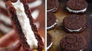 Chocolate Sandwich Cookies (Marshmallow Creme)