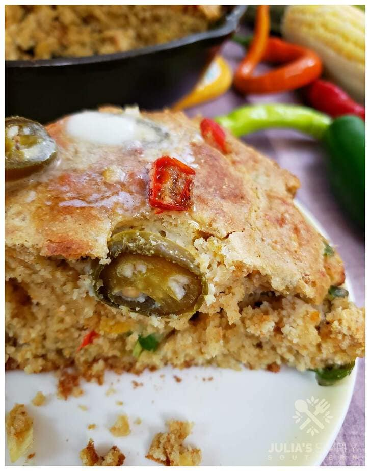 Southern Style Spicy Mexican Cornbread