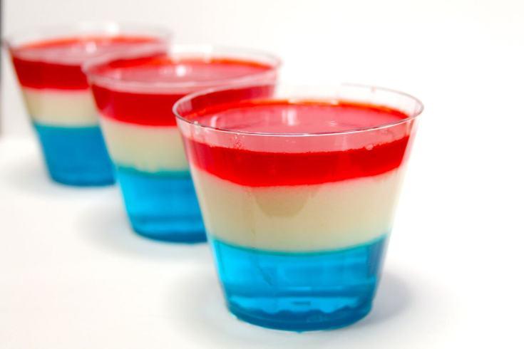 Layered Jell-O Desserts