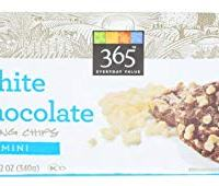 365 Everyday Value, Mini White Chocolate Baking Chips, 12 Ounce
