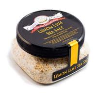 Lemon Lime Sea Salt - All-Natural Unrefined Sea Salt Infused with Lemon & Lime