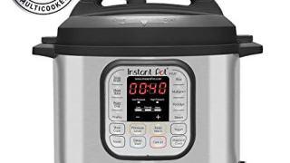 Instant Pot 6 Qt 7-in-1 Multi-Use Programmable Pressure Cooker, Slow Cooker, Rice Cooker, Steamer, Saute; Yogurt Maker and Warmer