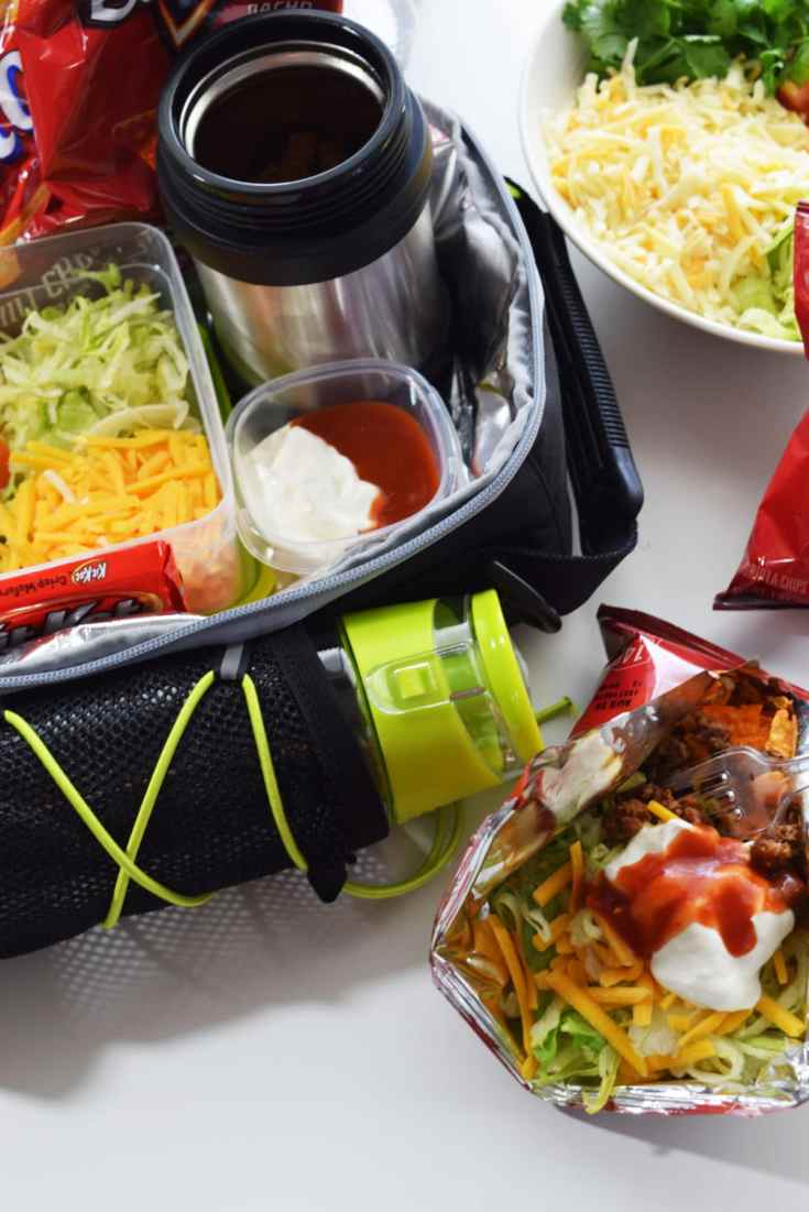 Lunch Box Walking Tacos