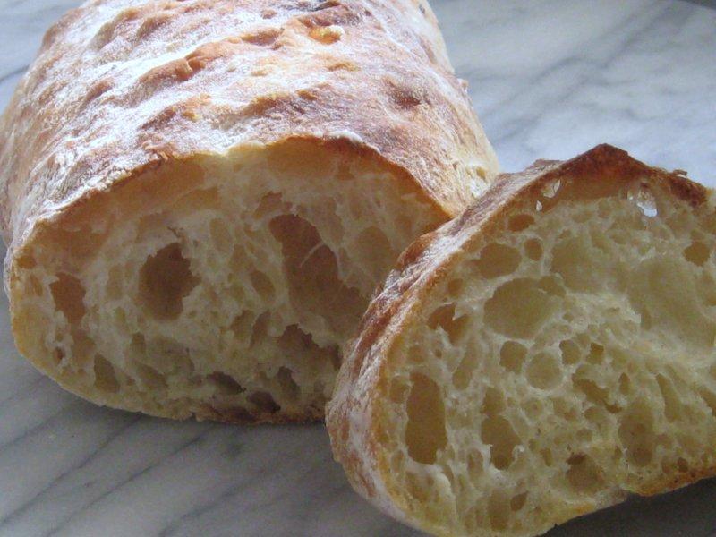 Image result for bread texture ciabatta