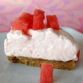 Watermelon-Cheesecake