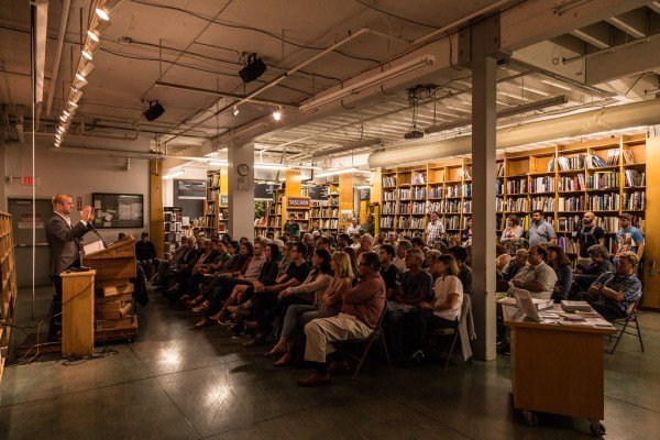 "We launched ""Quantified: Redefining Conservation for the Next Economy"" at the world's largest independent bookstore, Powell's Books."