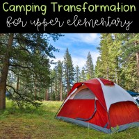 Camping Week for Upper Elementary!