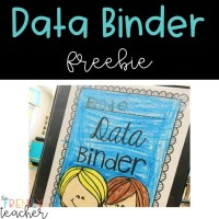 Data Binders in the Early Elementary Classroom