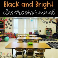 Black & Brights Classroom Reveal