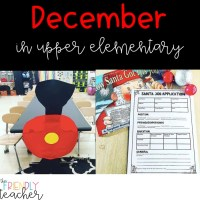 December in the Upper Elementary Classroom