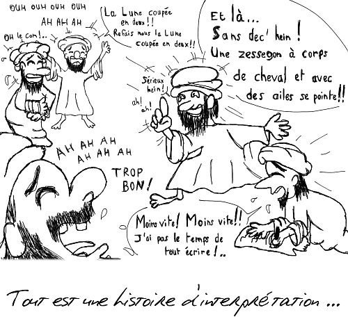 Mohammed, meilleur humoriste du sixième siècle