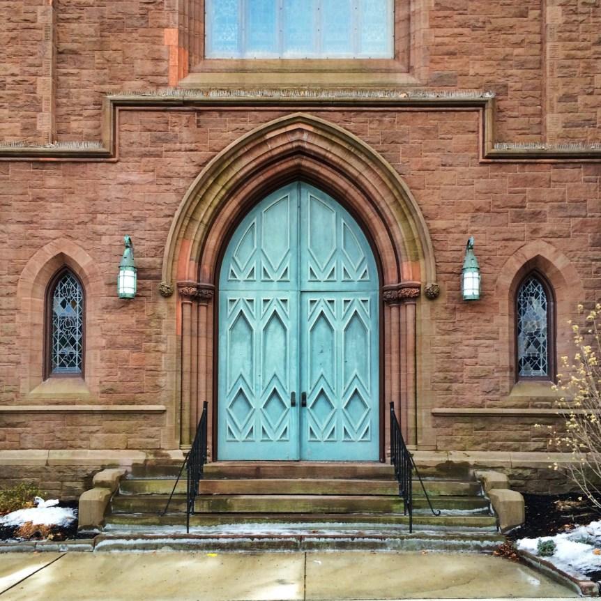 Church New Britain Gothic Ct Connecticut Door