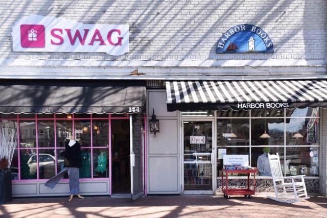 old saybrook, main street, swag, ct