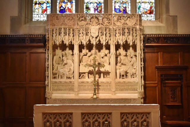 reredos, st. john's episcopal church, west hartford