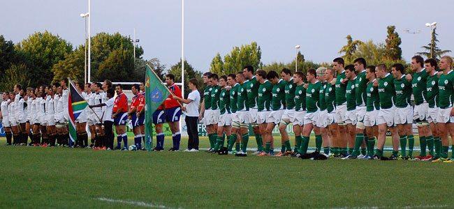 JWC2012: South Africa U20 19 Ireland U20 23