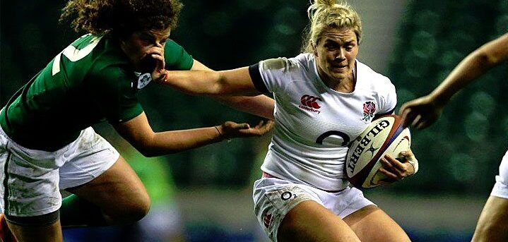 Women's Six Nations: England 17 Ireland 10.