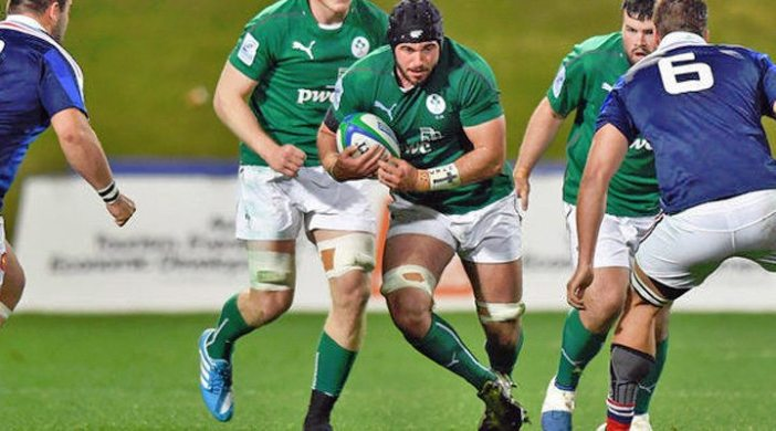 Ulster's Frankie Taggart makes his fourth appearance in the Junior World Championship for Ireland U20's .