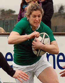 Alison Miller. Ireland's stand out player against Spain.