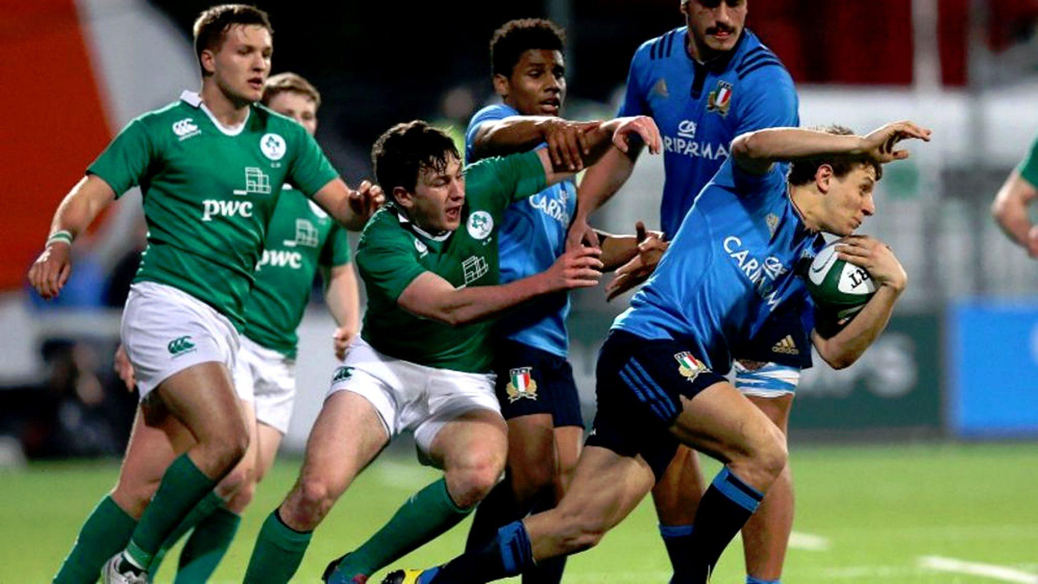 RBS6N: Ireland U20 19 Italy U20 13