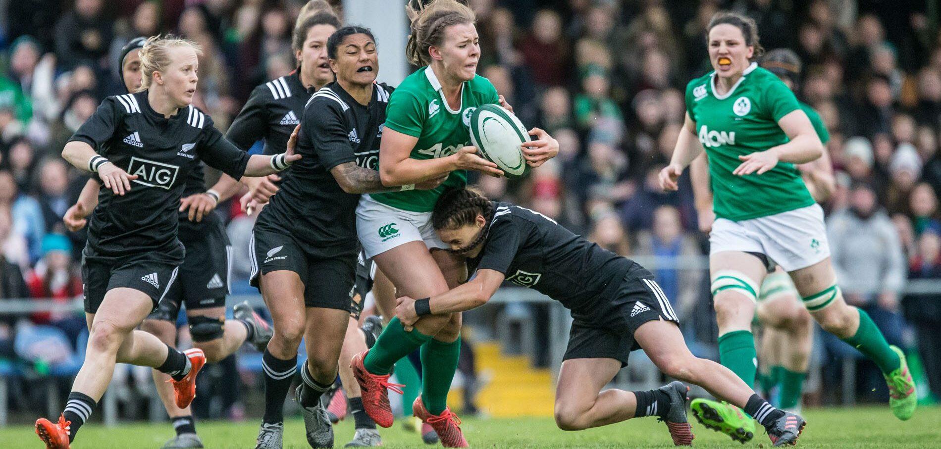 Women: Ireland 8 New Zealand 38