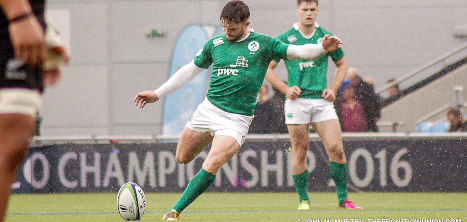 Four Ulster players in U20's to face France