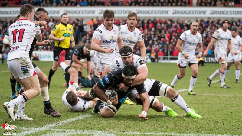 Marcell Coetzee, PRO12, Ulster Rugby