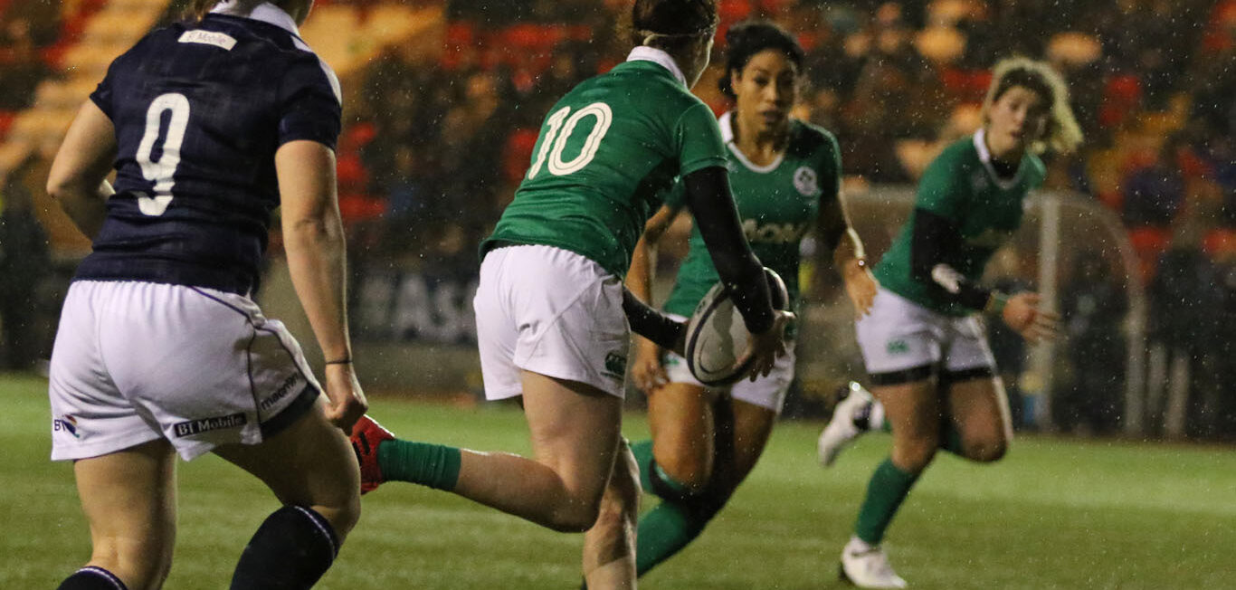 Teams up for Italy v Ireland Women's Six Nations match.
