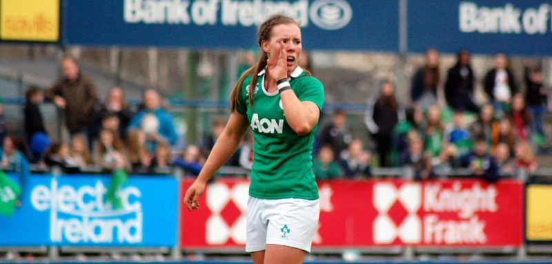 Claire MCLaughlin, Ireland Women's Rugby