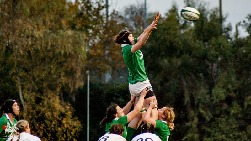 Marie Louise Reilly, Ireland Women, Grand Slam Decider