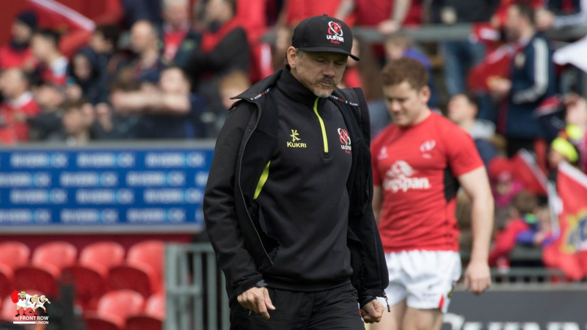 Les Kiss, Ulster Rugby