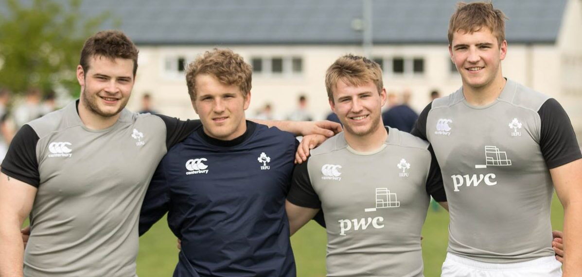 Meet the Ulster players in the Ireland U20 Squad.