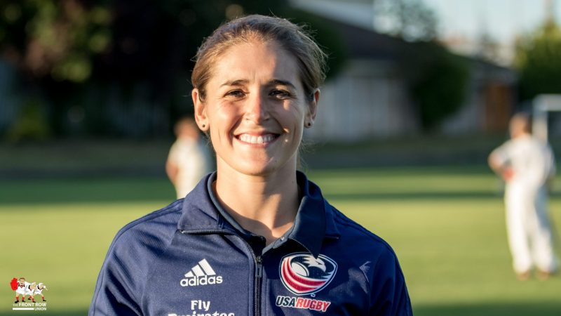 Kimber Rozier, USA Women's Rugby