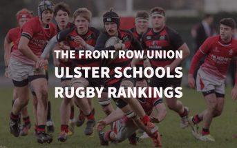 Ulster Schools, Rugby Rankings