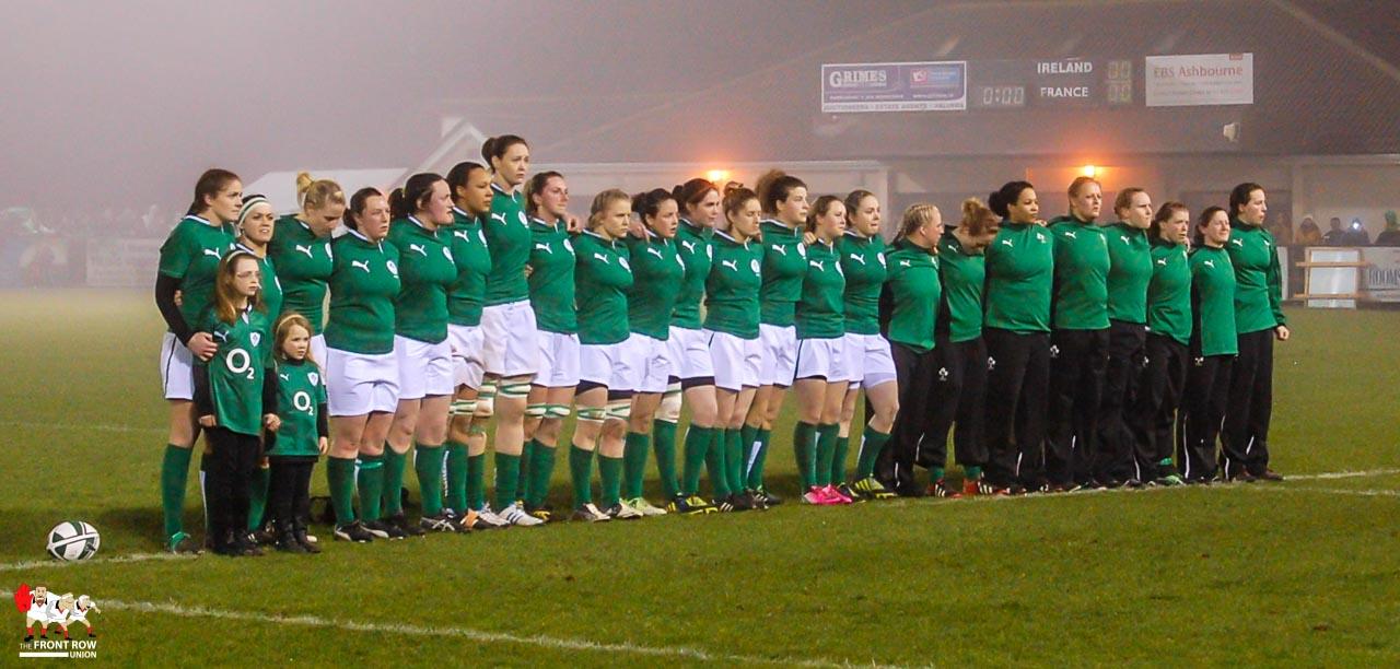 Women: Ireland 15 France 10