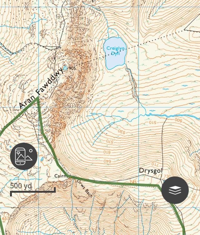 Aran Fawddwy Trail Route 03 | Snowdonia | thefrozendivide