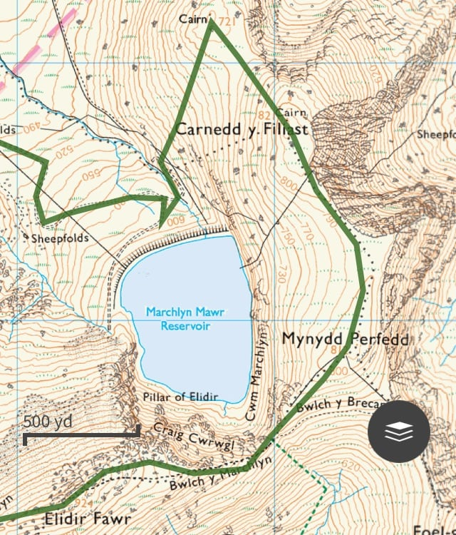 Marchlyn Mawr Trail Route 02 | Snowdonia | thefrozendivide