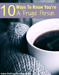 Frugal Person Traits