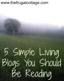Simple Living Blogs